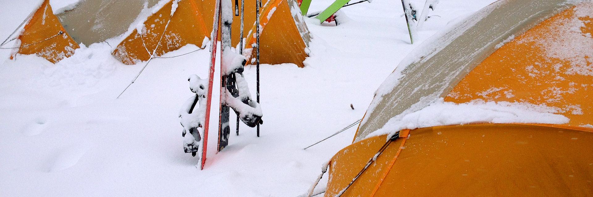 Wintercamping in Norway