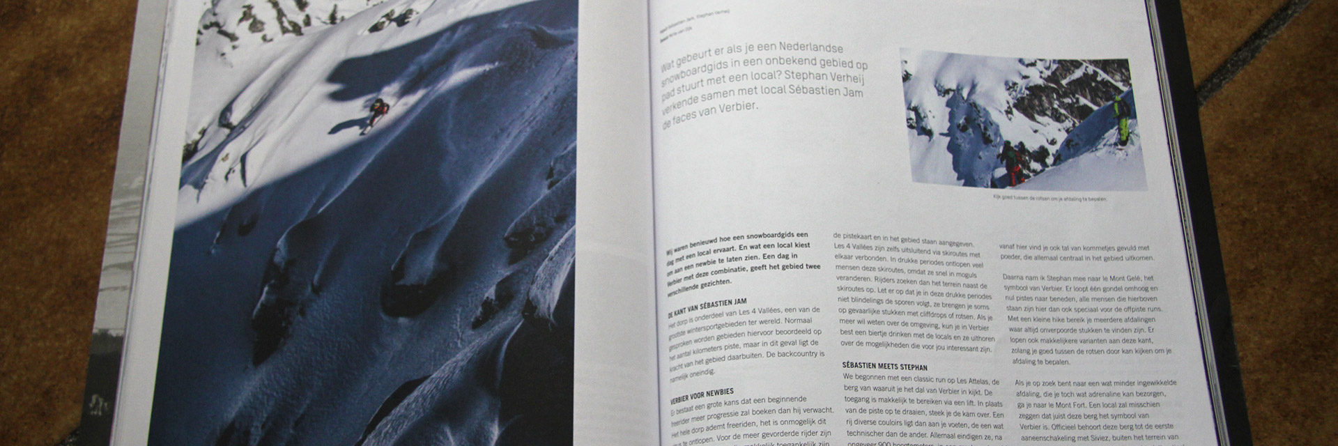 Two Faces article Taste Snowboard Magazine 2014-1