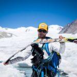 Splitboard expedition Mongolia - Broken splitboard - Pic: Mirte van Dijk