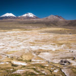 Hot springs and volcanoes in Sajama NP, Bolivia - Pic: Greg O'Callaghan